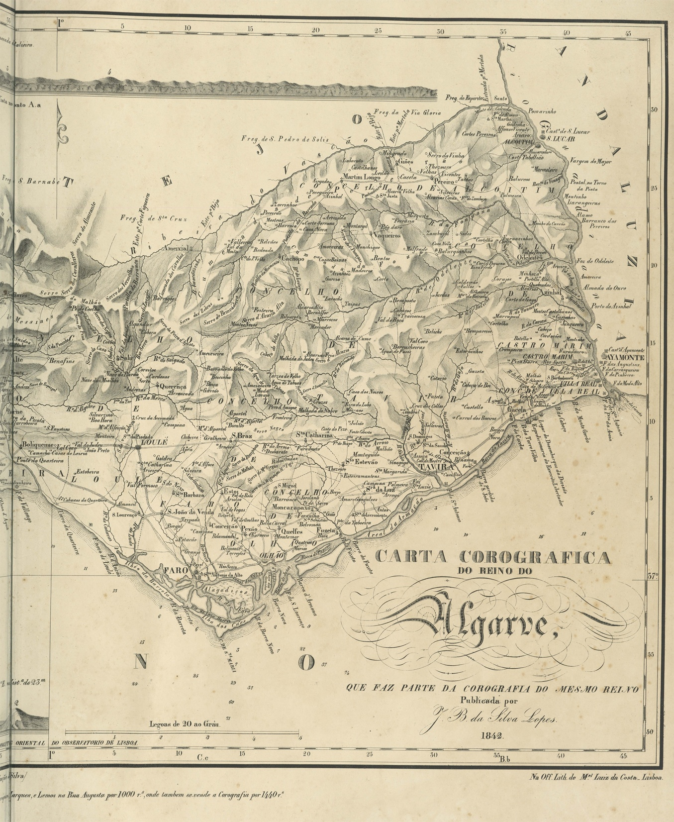 rcg_horst_fig.6_carta_corografica_do_reino_do_algarve_lisbon_1842_nachl._f._kunstmann_c.7